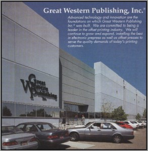 GREAT WESTERN PUBLISHING INC. ONTARIO, CALIFORNIA